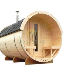 Sauna barrel 3 m Ø 2.2