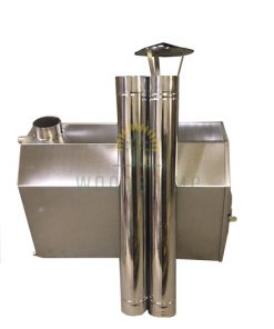 8 angle external heater