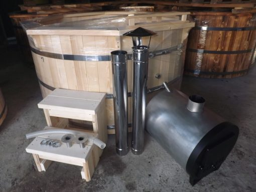 Round external heater for hot tub 14/18/26 kw