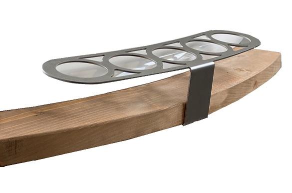 Stainless steel drinks holder