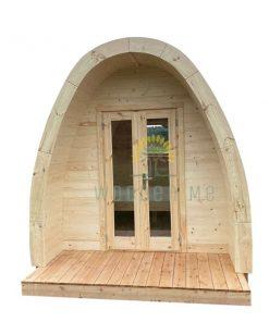 Luxury camping Pod 2,4 m x 3 m