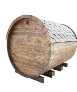 Sauna barrel 2.4 m Ø 2.27 m